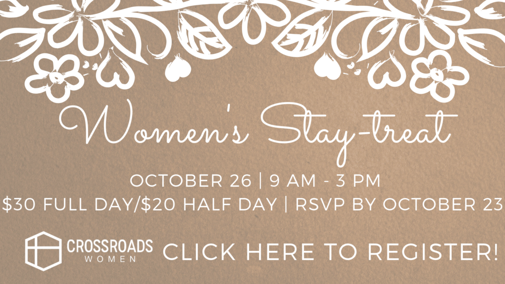 Women's Stay-treat: Register here!
